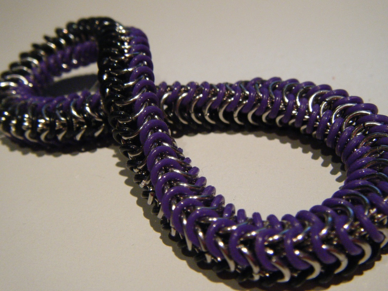 Chainmail and Purple Rubber